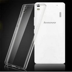 Lenovo A850+ Transparent Back Case (ULTRA THIN)