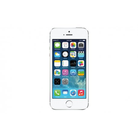 apple iphone 5s 64gb silver refurbished retrons. Black Bedroom Furniture Sets. Home Design Ideas