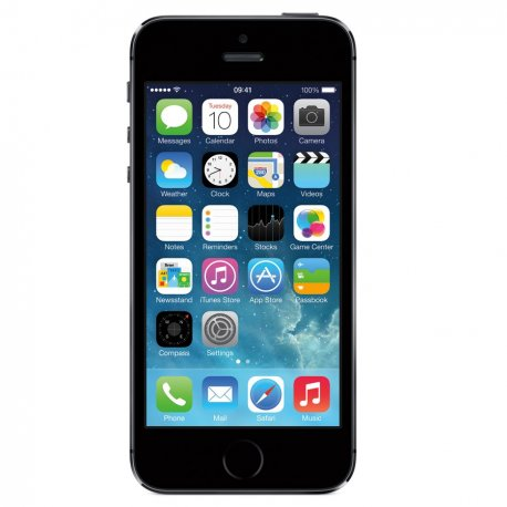 Apple iPhone 5S 32GB Space Grey Black (PRE-OWNED) - Retrons 076591ad39