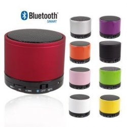 Round Drum Bluetooth Speaker