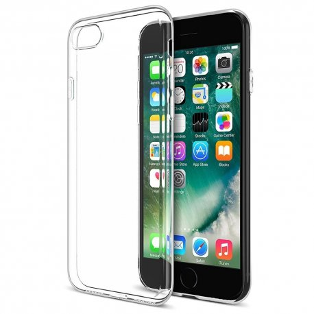 Apple iPhone 7 Transparent Back Case (ULTRA THIN)