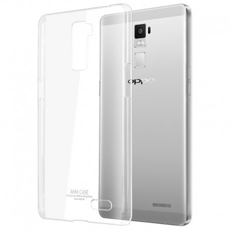 Oppo Yoyo Transparent Back Case (ULTRA THIN)