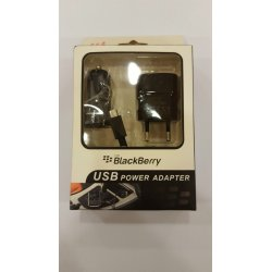 Blackberry Adapter and Car Charger