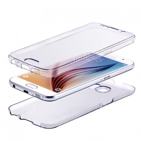 Samsung Galaxy J7 2016 360 TPU Full Casing (Front & Back)