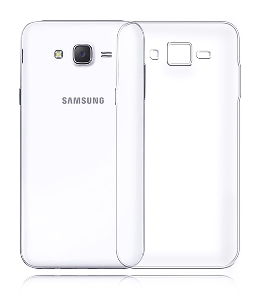 Samsung Galaxy J2 Transparent Back Case Ultra Thin Retrons