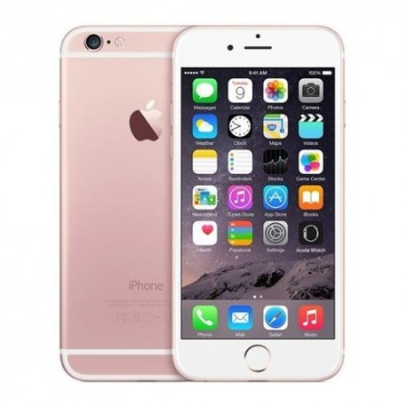 Apple iPhone 6 16GB Pink Rose Gold (REFURBISHED) - Retrons 6bf8f37d638a4