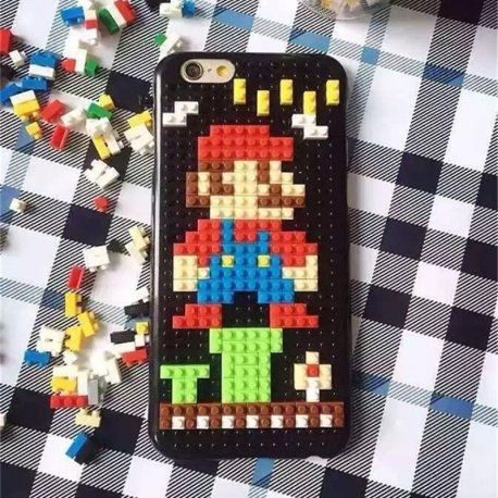 innovative design d2d74 07b30 Apple iPhone 7 Plus Lego Back Case