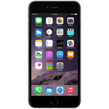 low priced 8529d 6a138 Apple iPhone 6 Plus 128GB Space Grey Black (NO TOUCH ID)