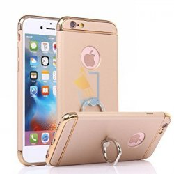 Apple iPhone 6 Plus 6s Plus Premium Hard Back Case with iRing