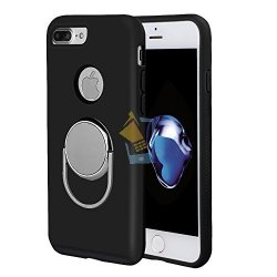 Apple iPhone 7 Plus Hard Back Case with Magnetic 360 iRing