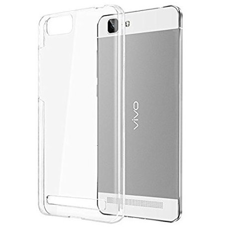 Vivo V7 Transparent Back Case (ULTRA THIN)