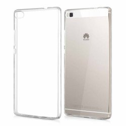 Huawei Honor 8 Pro Transparent Back Case (ULTRA THIN)