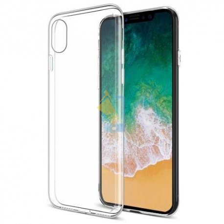 new concept 94d7e 2b02c Apple iPhone X Transparent Back Case (ULTRA THIN)
