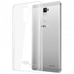 Oppo F5 Transparent Back Case (ULTRA THIN)