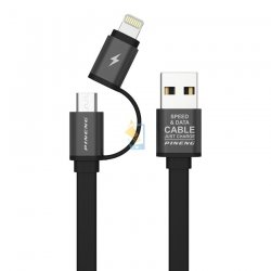 Pineng PN304 2 in 1 Speed & Data Charging USB Cable