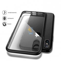 NXE Design Apple iPhone X Azure Stone Glass Back Case