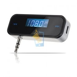 In Car Handsfree & FM Transmitter with LED
